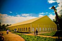 шатер вместимостью до 2000 человек поселок Шуваловка (Русская деревня)