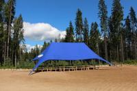"Корпоративный шатер на берегу озера ""blue"""