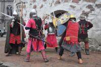 Сражение рыцарей у Круглой башни