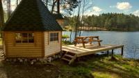 Гриль-домик на озере Лампушки