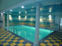 Комплекс отдыха с банным комплексом и бассейном