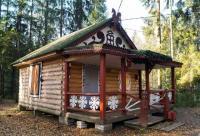 Коттедж-беседка для шашлыков на компанию рядом с городом в Поселке Токсово