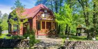 Коттедж с двумя спальнями и сауной в Зеленогорске