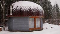 4х местный дом-гриб с сауной